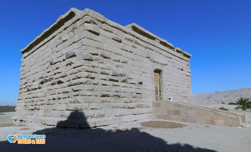 Deir El Shelwit Luxor Egypt   Isis Temple Ancient Egyptian ...
