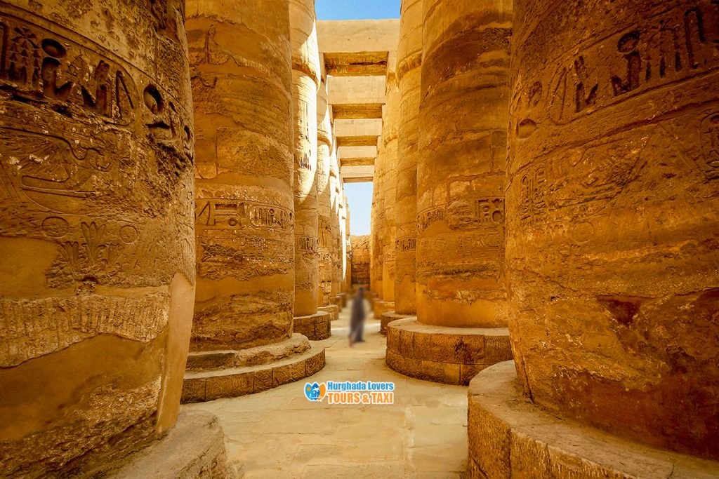 Great Hypostyle Hall in Karnak Temple Luxor   History ...